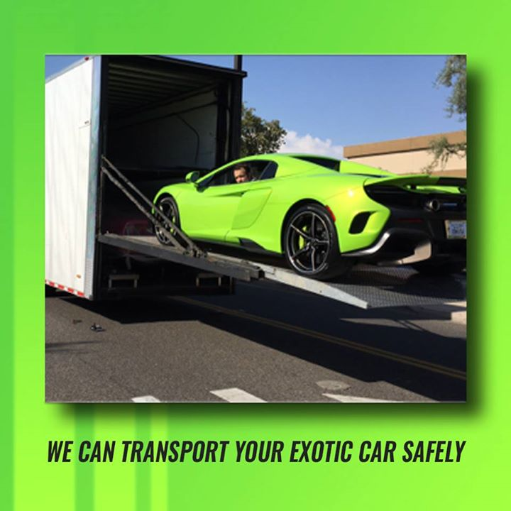 True Auto Group can  #Transport your  #Exotic  #Vehicles Safely anywhere in the