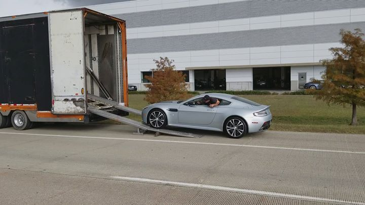 Bring in the new  #astonmartin  #trueautologistics  #trueautogroup  #true  #tran